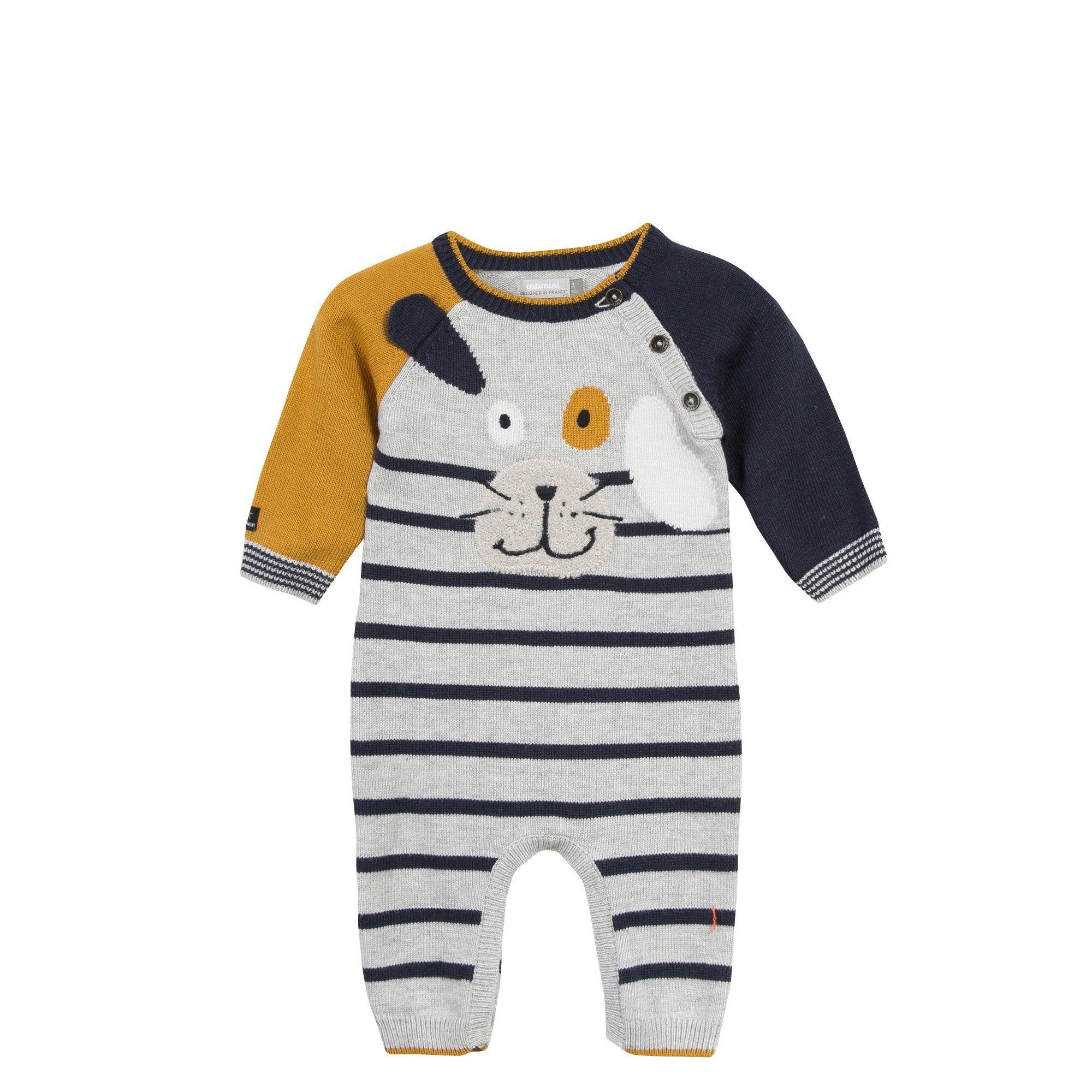 wholesale dealer cf039 828fe Catimini: Knitted Dog Jumpsuit | Collezione estiva | Bebè ...