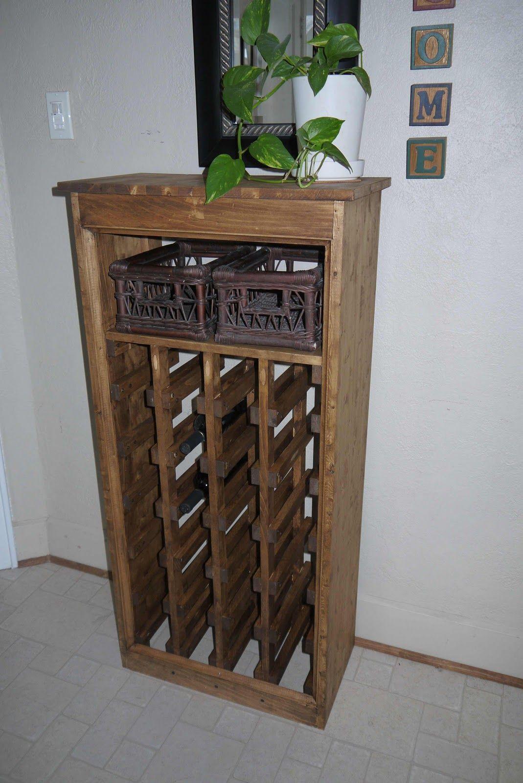 Diy wine rack diy wine rack wine rack diy wood