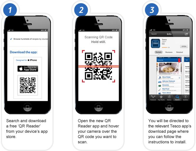 Tesco Qr Code Subway Store With Images Subway Store Iphone