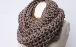 tricoter un snood femme tuto