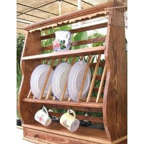 Alacena platero artesanal 1 muebles pinterest for Plateros para cocina