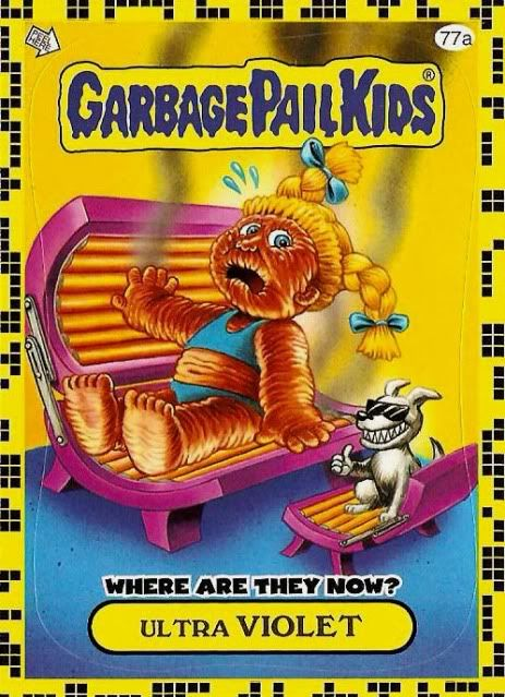 Loony Lenny Garbage Pail Kid Brent Engstrom Did Tanya Hide Garbage Pail Kids Garbage Pail Kids Cards Patch Kids