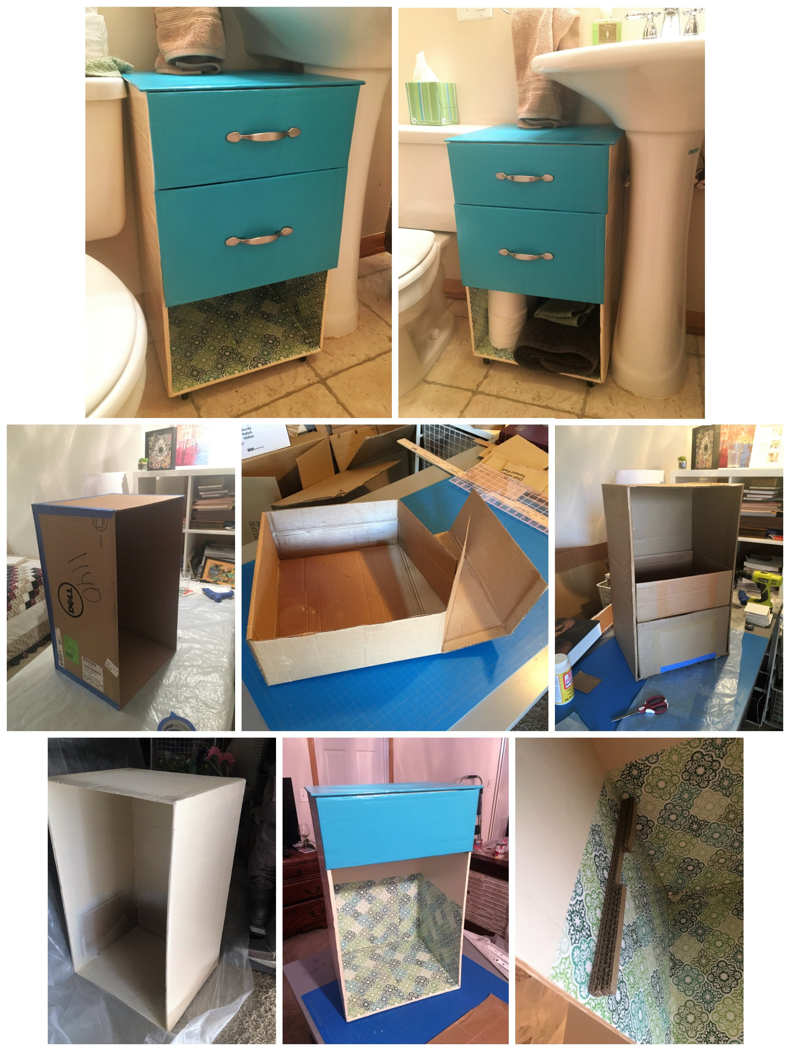 I Made This Cute Little Custom Storage Chest For My