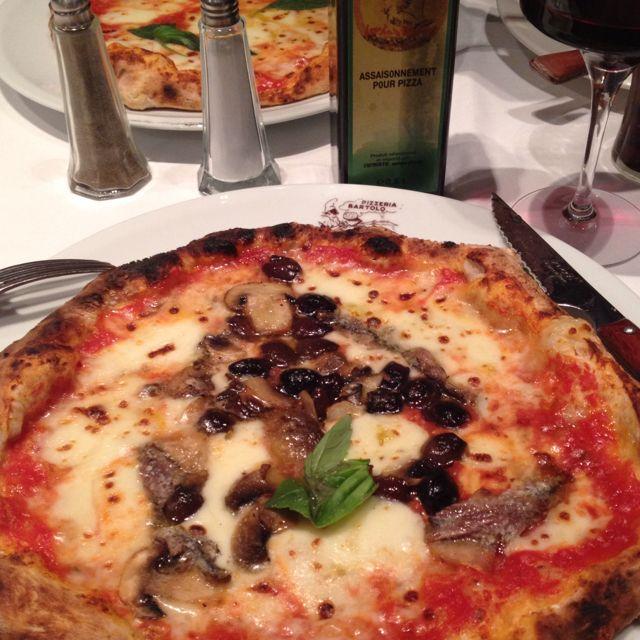 Parisian best pizza