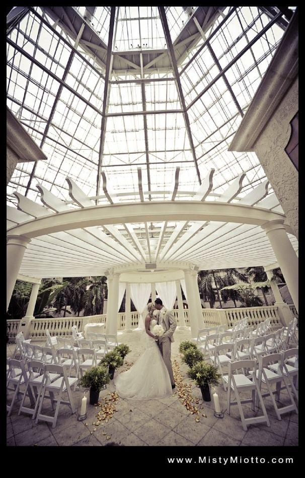 Destination Weddings Ceremony Site Gaylord Palms Wedding