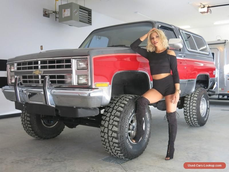 Car For Sale 1987 Chevrolet Blazer Silverado K5 Chevrolet