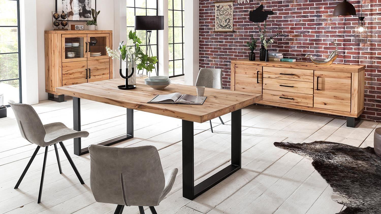 Innenarchitektur Esstisch 200 Cm Referenz Von Leife Tisch U-form In Buche Massiv Und