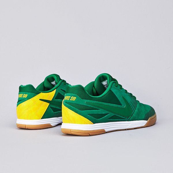 cheaper fed80 cd96b Nike SB Lunar Gato WC Pine Green   Varsity Maize