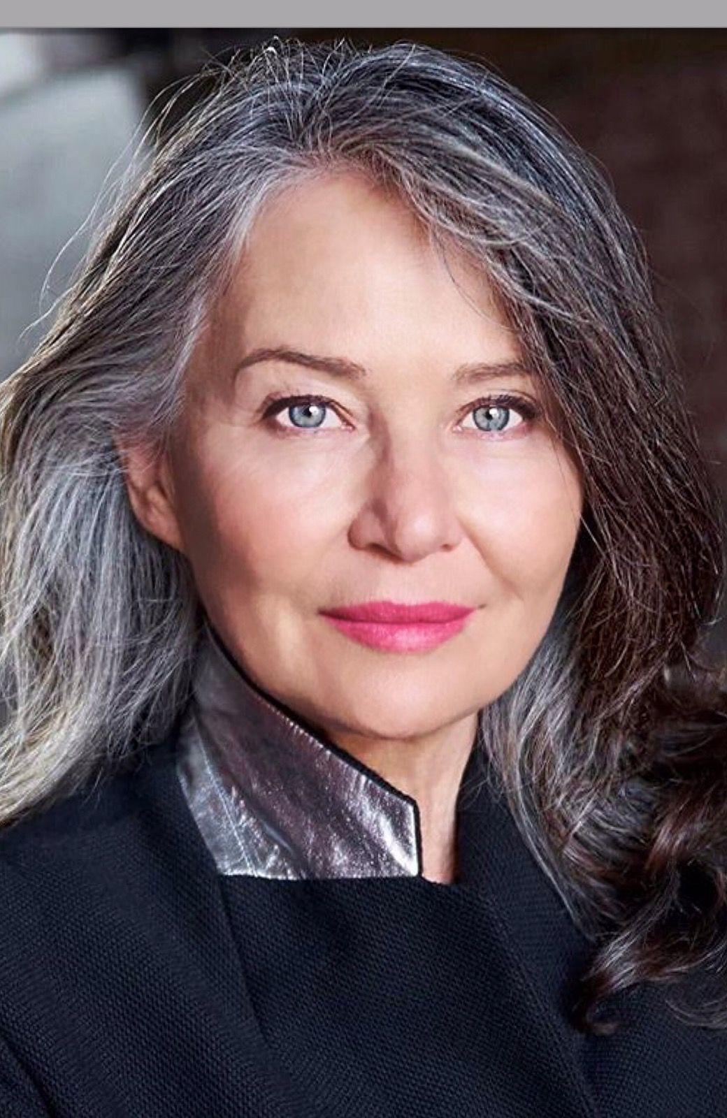stunning look  silver haired beauties grey hair