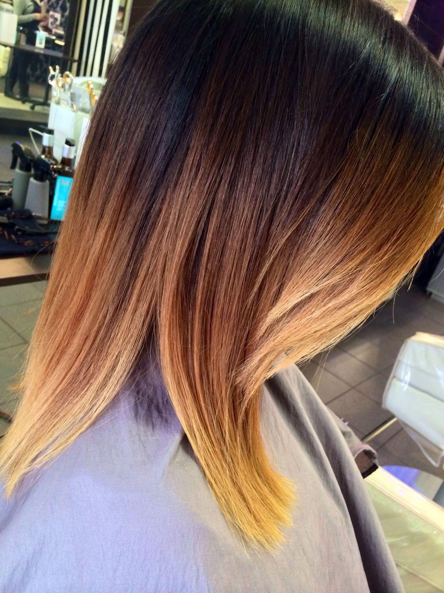 Medium length ombré hair pinterest hair medium lengths hair