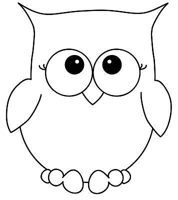 Pin Von Nicole Weber Auf Owls Eule Schablone