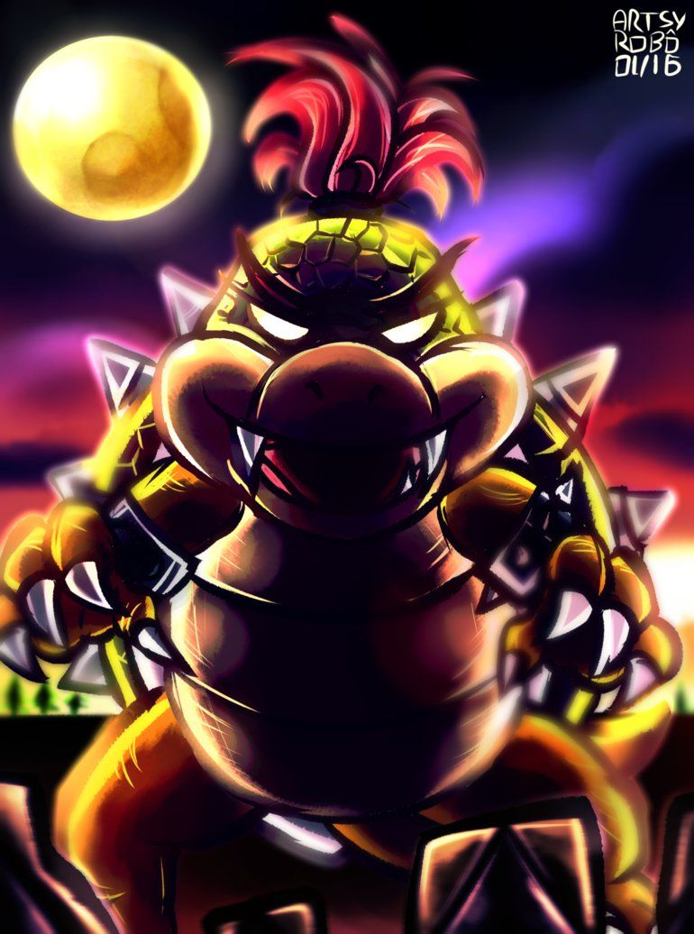 super mario brothers movie bowser