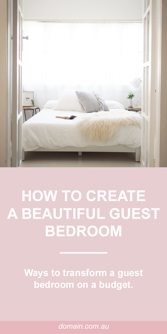 How to create a beautiful guest bedroom on a budget ...