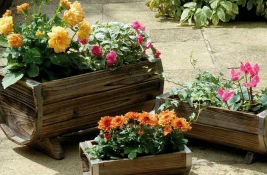 20 manualidades para el balcón, terraza o jardín | Jardines pequeños ...