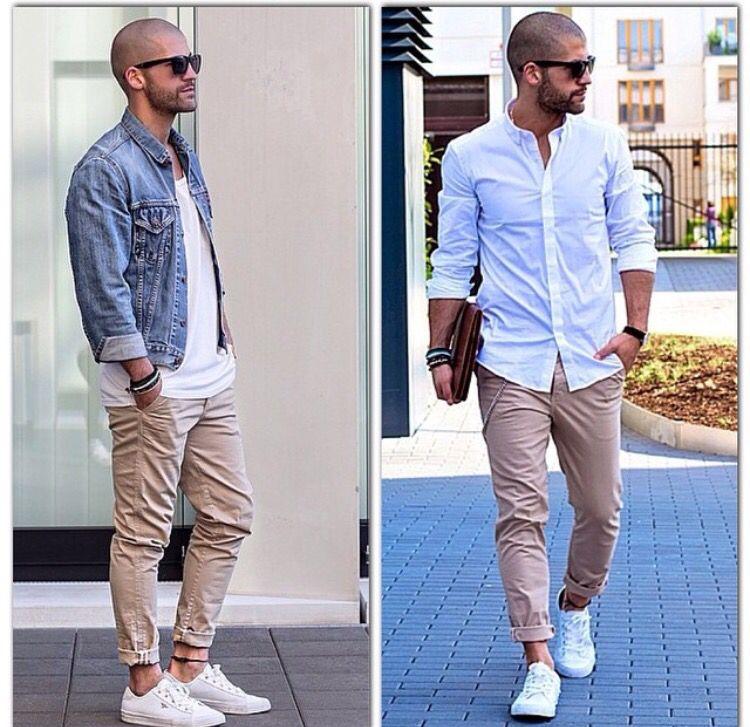 White/jeans