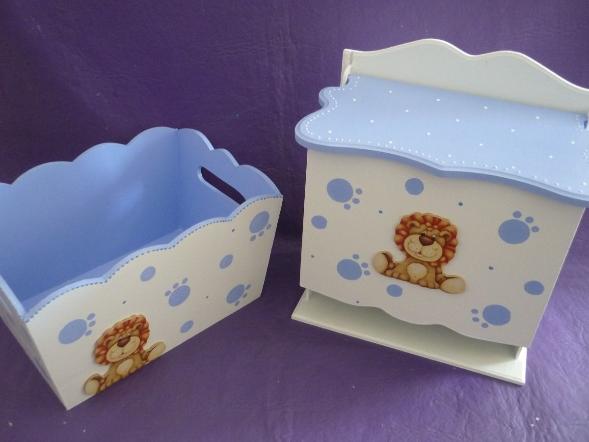 Pa aleras para bebes pintadas buscar con google cajas - Cajas decoradas para bebes ...