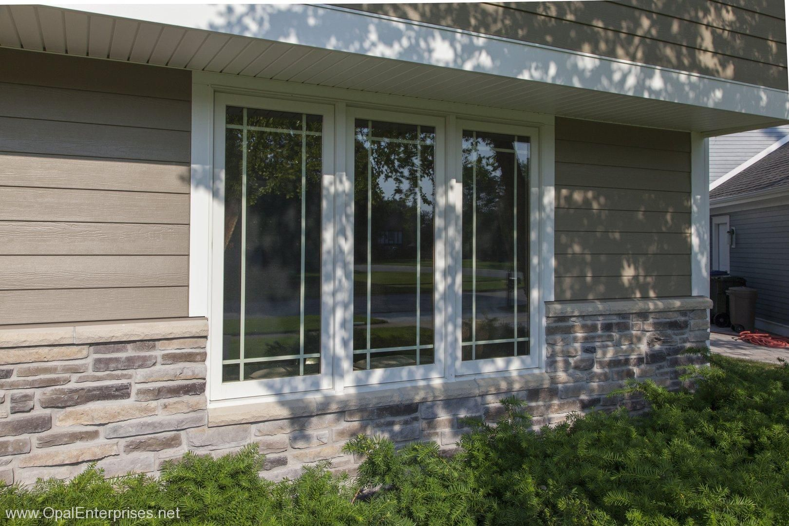 Andersen Windows With Prairie Style Grilles Paired With