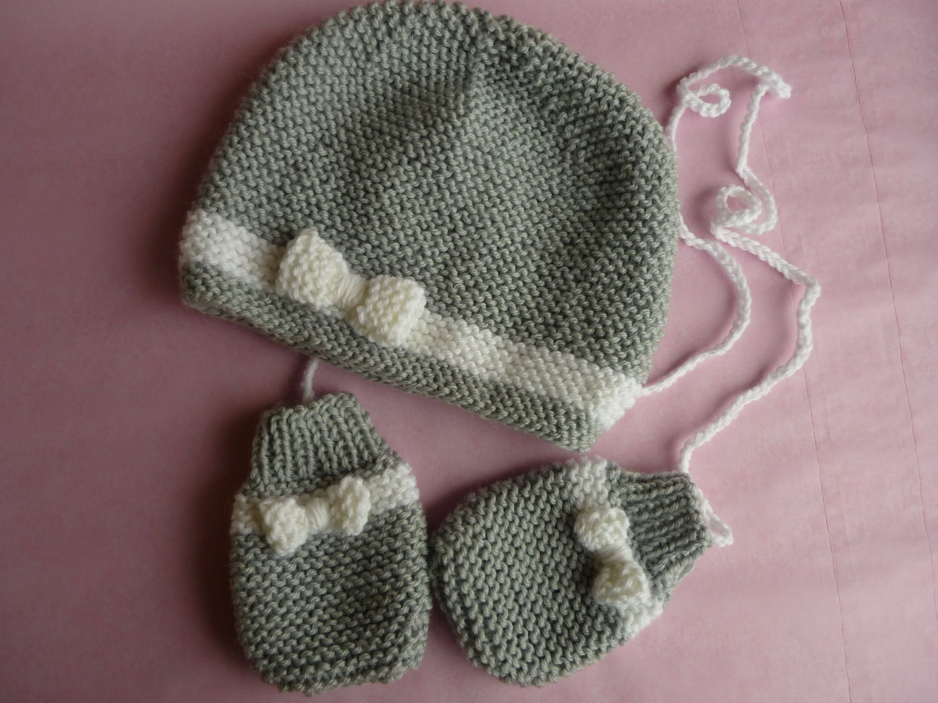 modele tricot moufle bebe naissance   Layette   Layette d272aece756