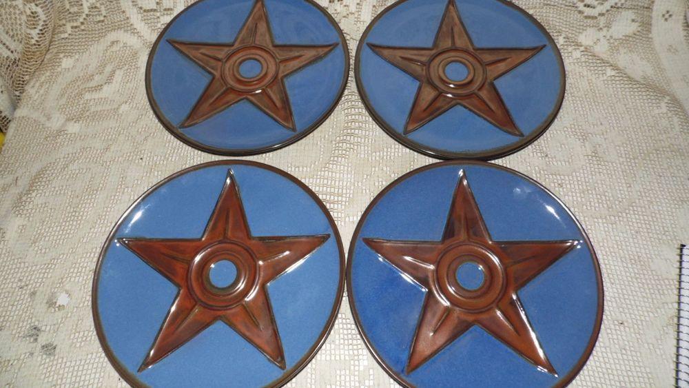 MONTANA LIFESTYLES IRON STAR PLATES SET OF 4 WESTERN COWBOY BRANDING IRON STAR #MONTANALIFESTYLES & MONTANA LIFESTYLES IRON STAR PLATES SET OF 4 WESTERN COWBOY BRANDING ...