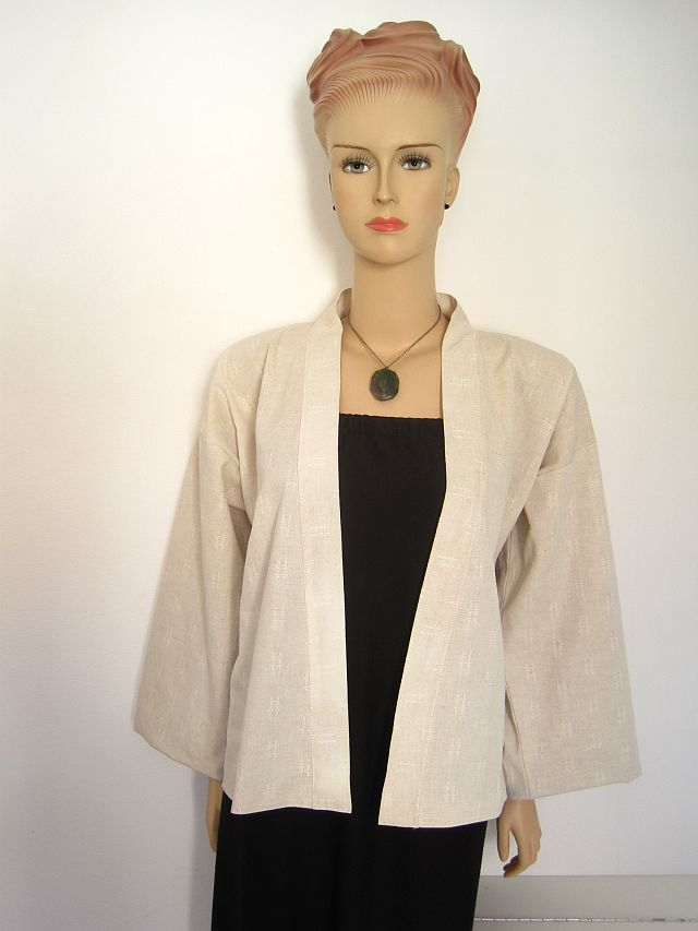 What has Greenie made this week? ANOTHER Kimono jacket. FREE sewing ...