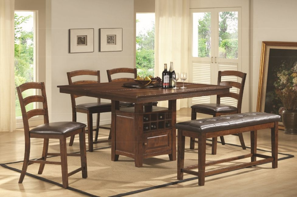 6pc Counter Height Dinette Set Bel Furniture Houston Amp San