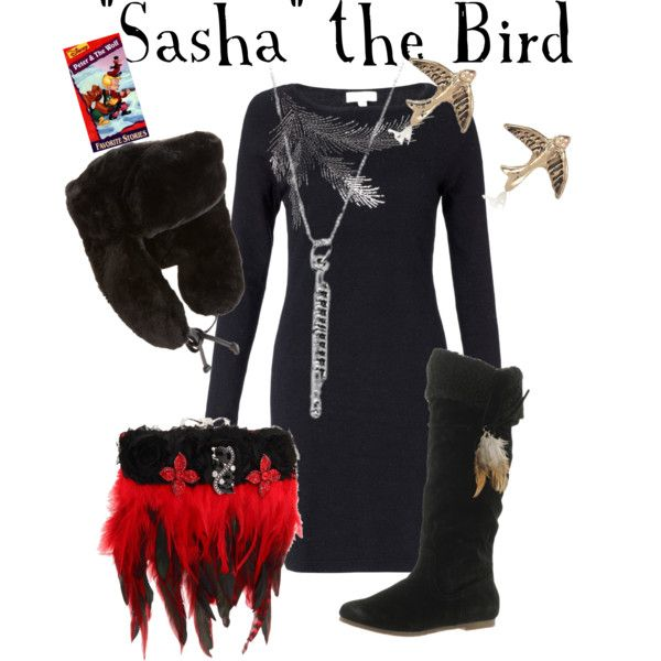 """""""Sasha the Bird - Peter and the Wolf"""" by marybethschultz on Polyvore"""