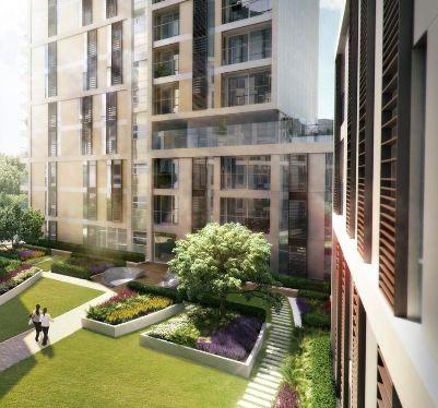 Modern Urban Landscape Architecture a raised or podium garden, found in urban landscapes | podium
