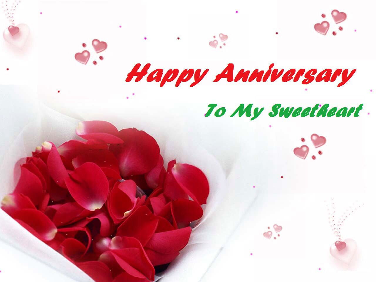 Happy Wedding Anniversary Greeting And Wishes Romentic Wallpaper!