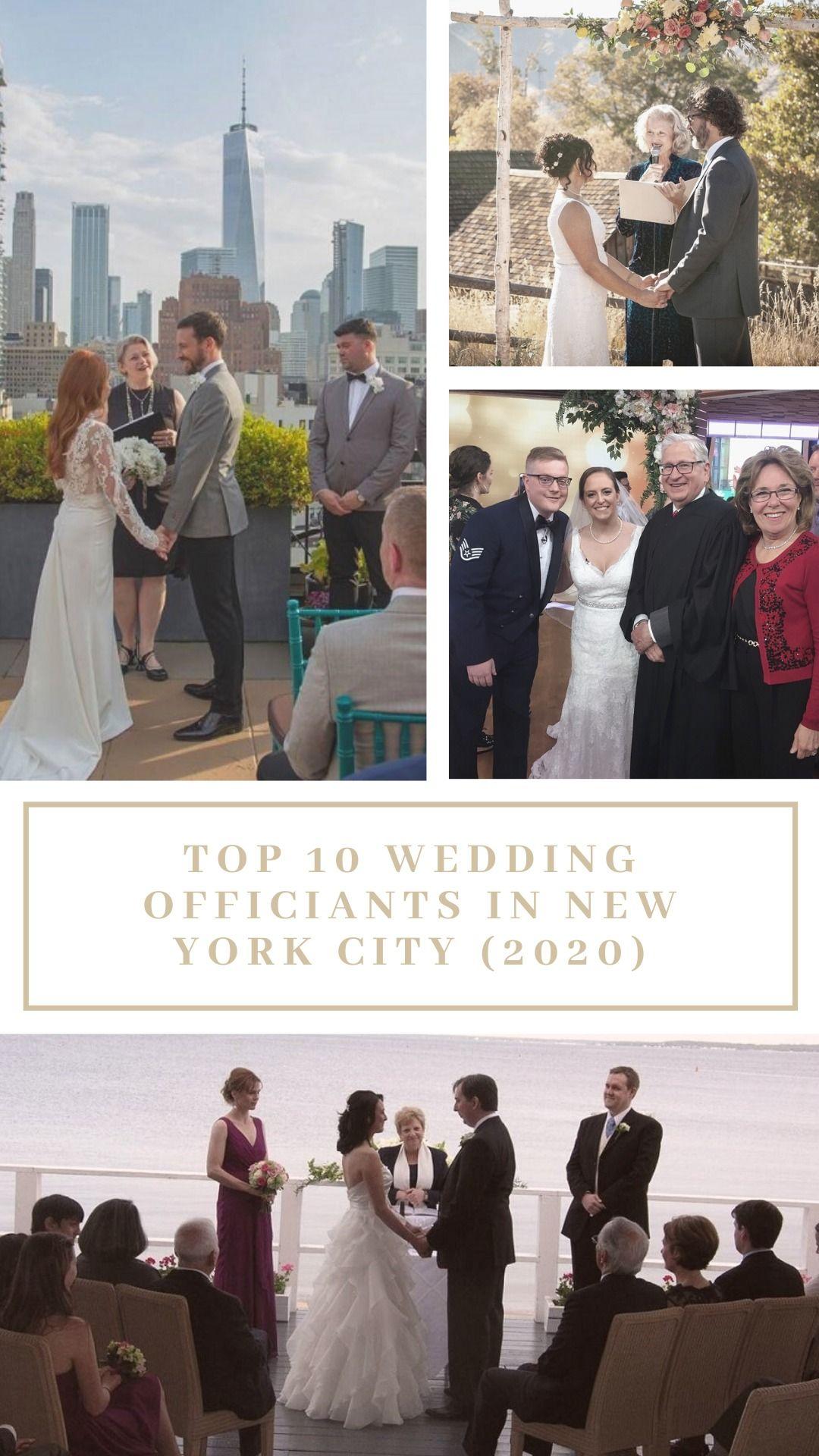 Top 10 Wedding Officiants In New York City 2020 Wedding Officiant Officiants Marriage Officiant