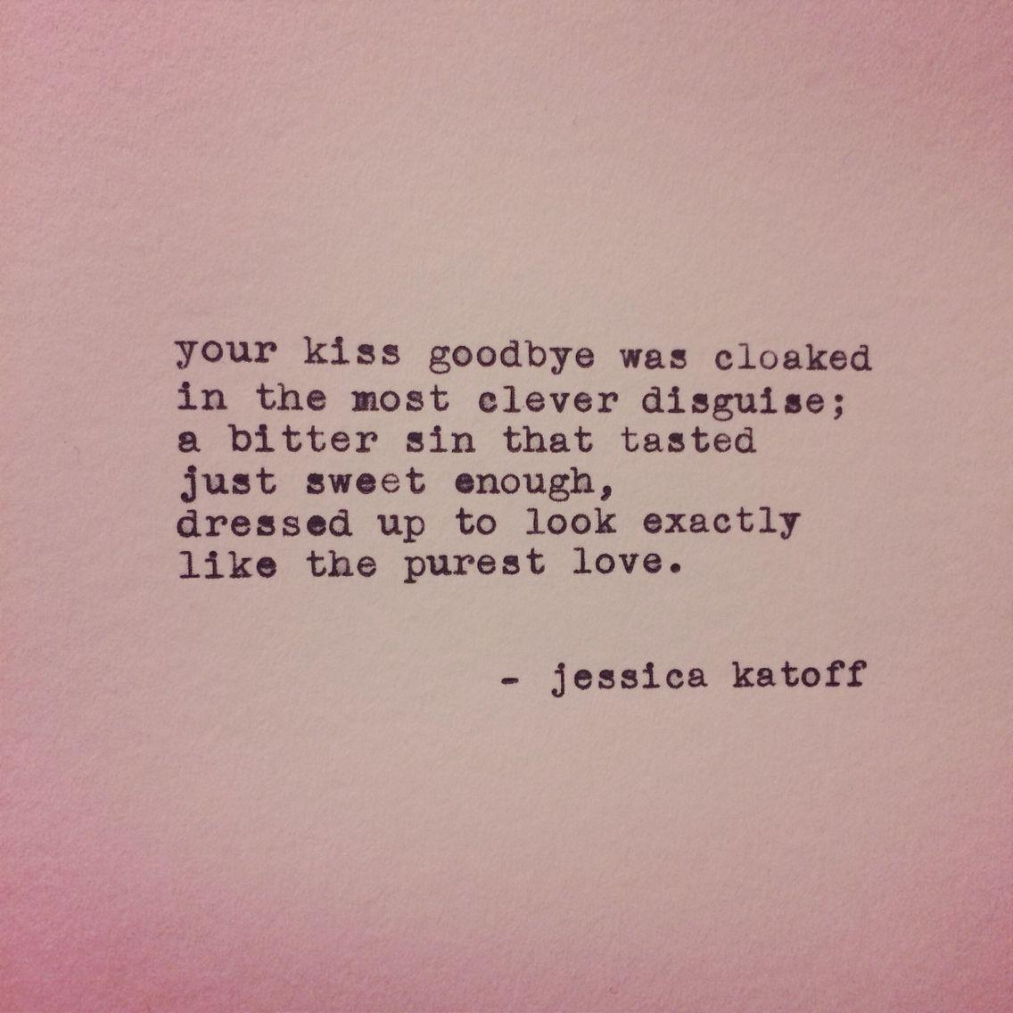 Original Poetry by Jessica Katoff http://instagram.com