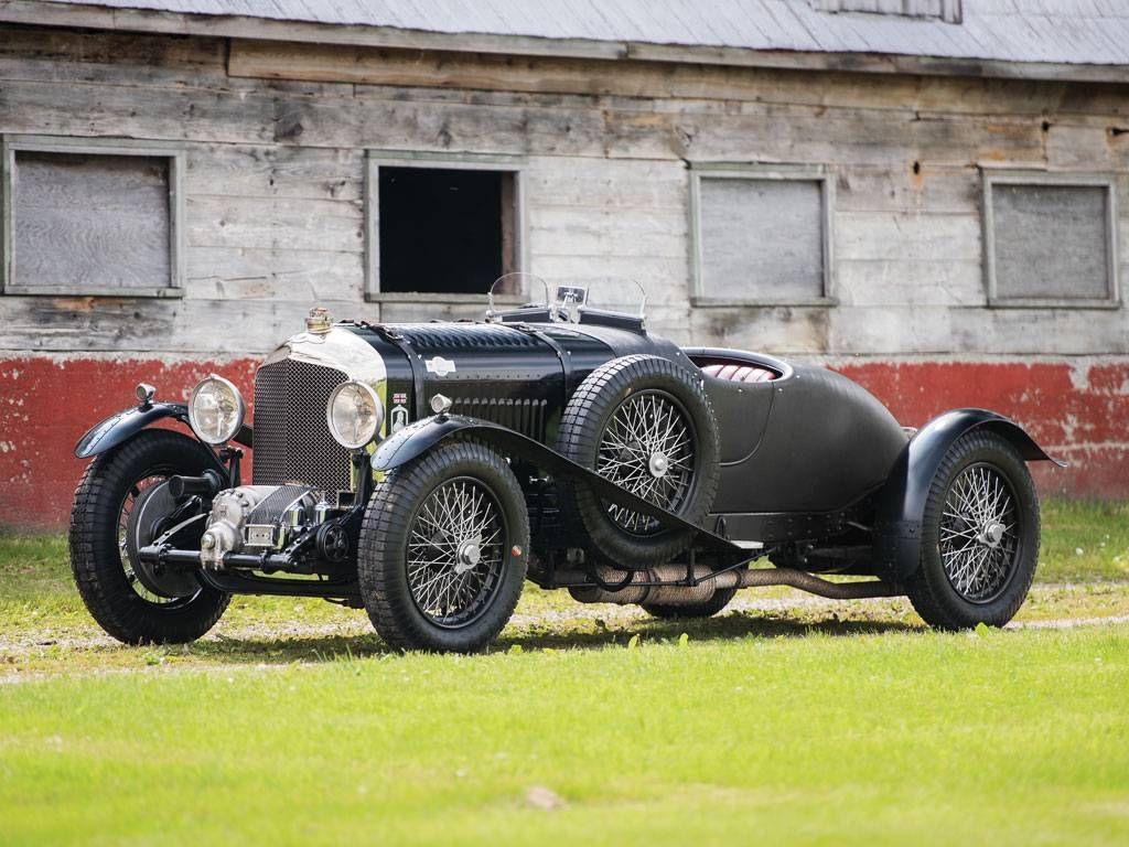 1931 Bentley 4 1/2Litre Supercharged TwoSeater Sports