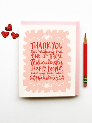 5 favorite valentines day cards from etsy - Etsy Valentines Cards