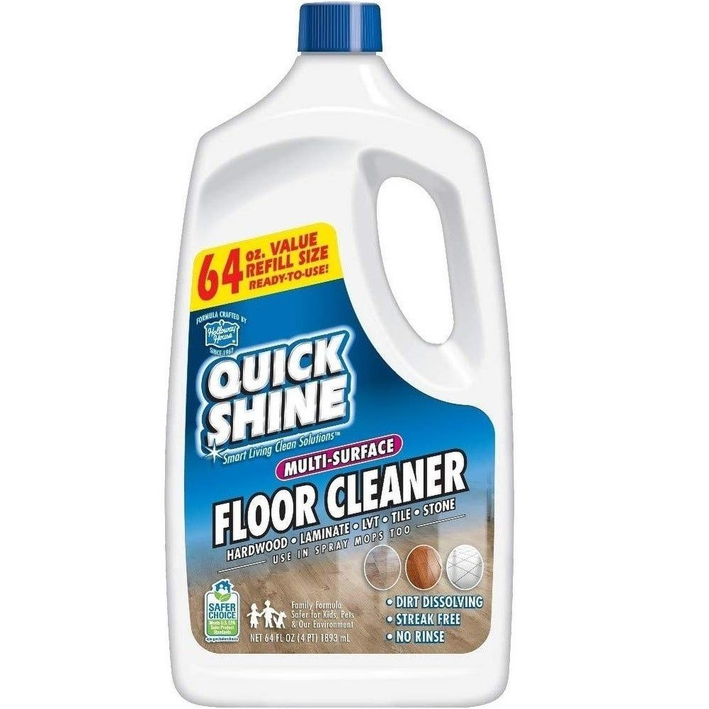 Quick Shine Multi Surface Floor Cleaner 2 Pack 64 Oz