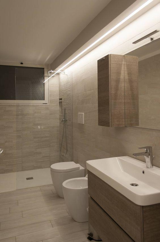 Appartamento g p bagno moderno di architettura interior for Appartamento stile moderno
