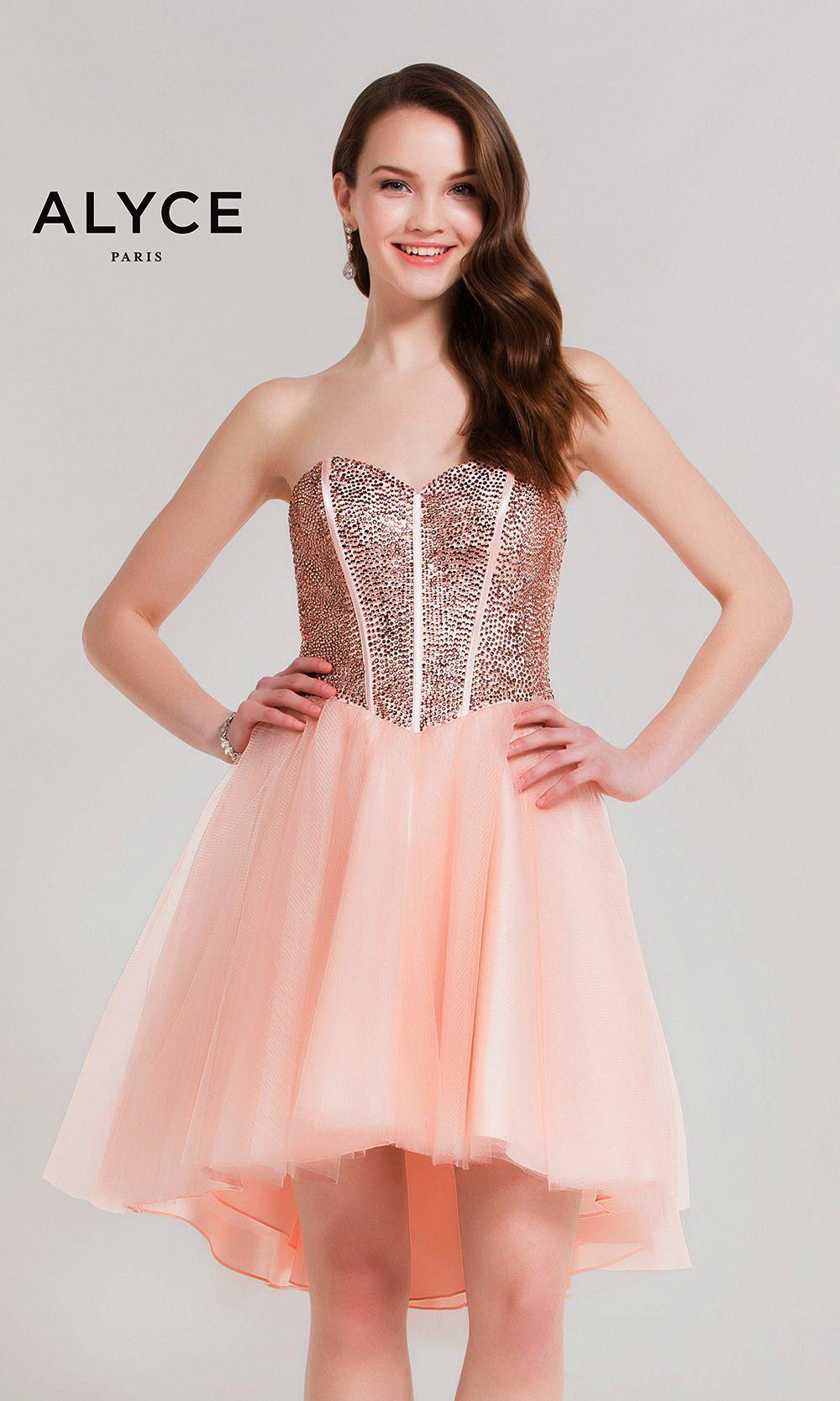 Short dresses by kalani hilliker for alyce parisucbrueaayucbr