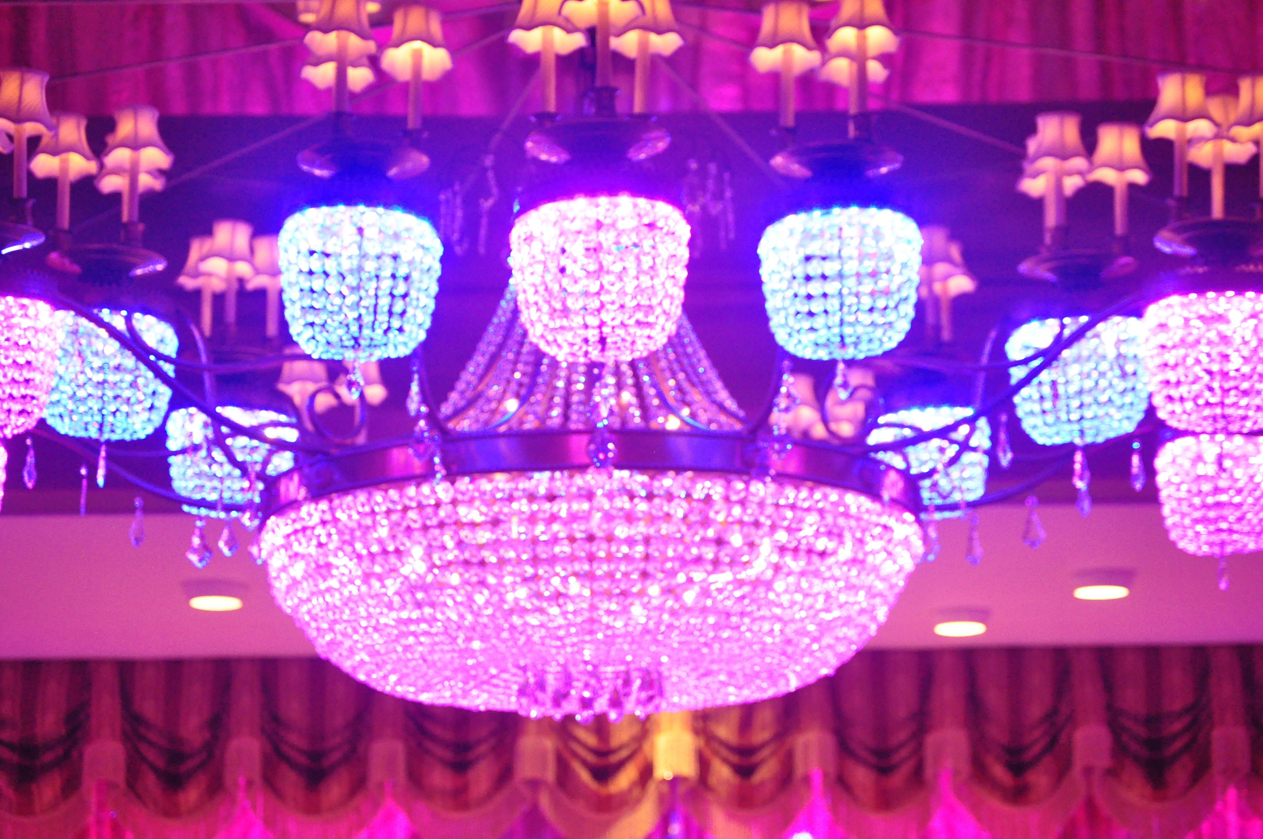 chandelier #wedding #topweddingvenue #lighting | It\'s All in the ...
