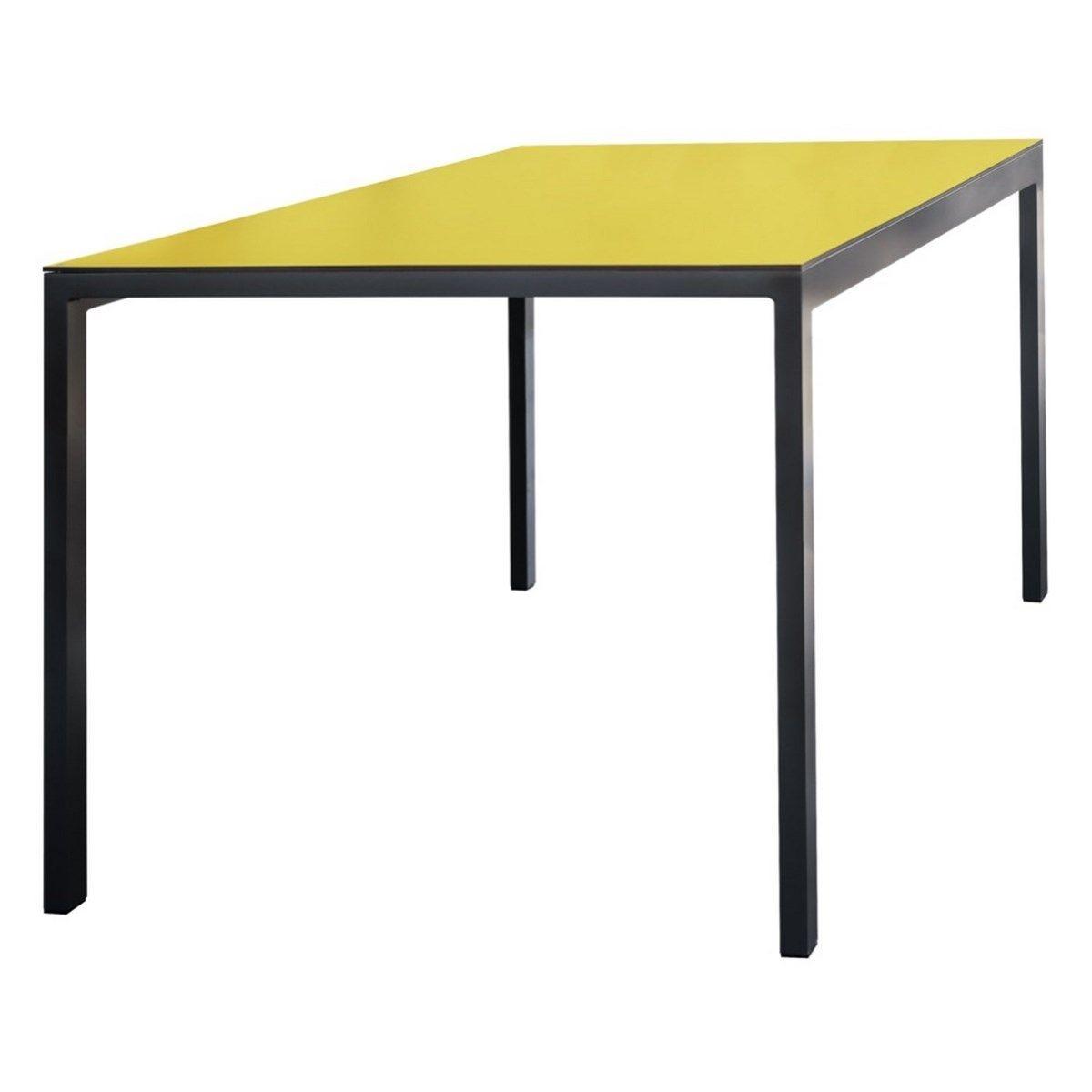 Table de jardin rectangulaire CORA en aluminium et plateau ...