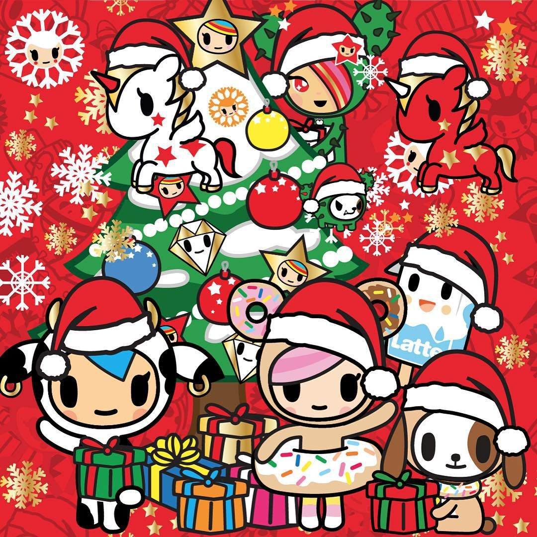 Simonelegno On Instagram Another Christmas Has Gone Did U Get Any Present You Were Dream Tokidoki Characters Cute Christmas Wallpaper Cute Kawaii Drawings