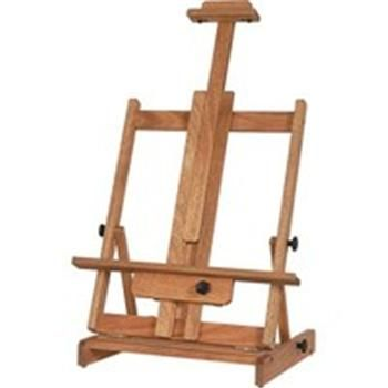 save on discount richeson lyptus wood deluxe table top easel 40 in canvas ht - Table Top Easel