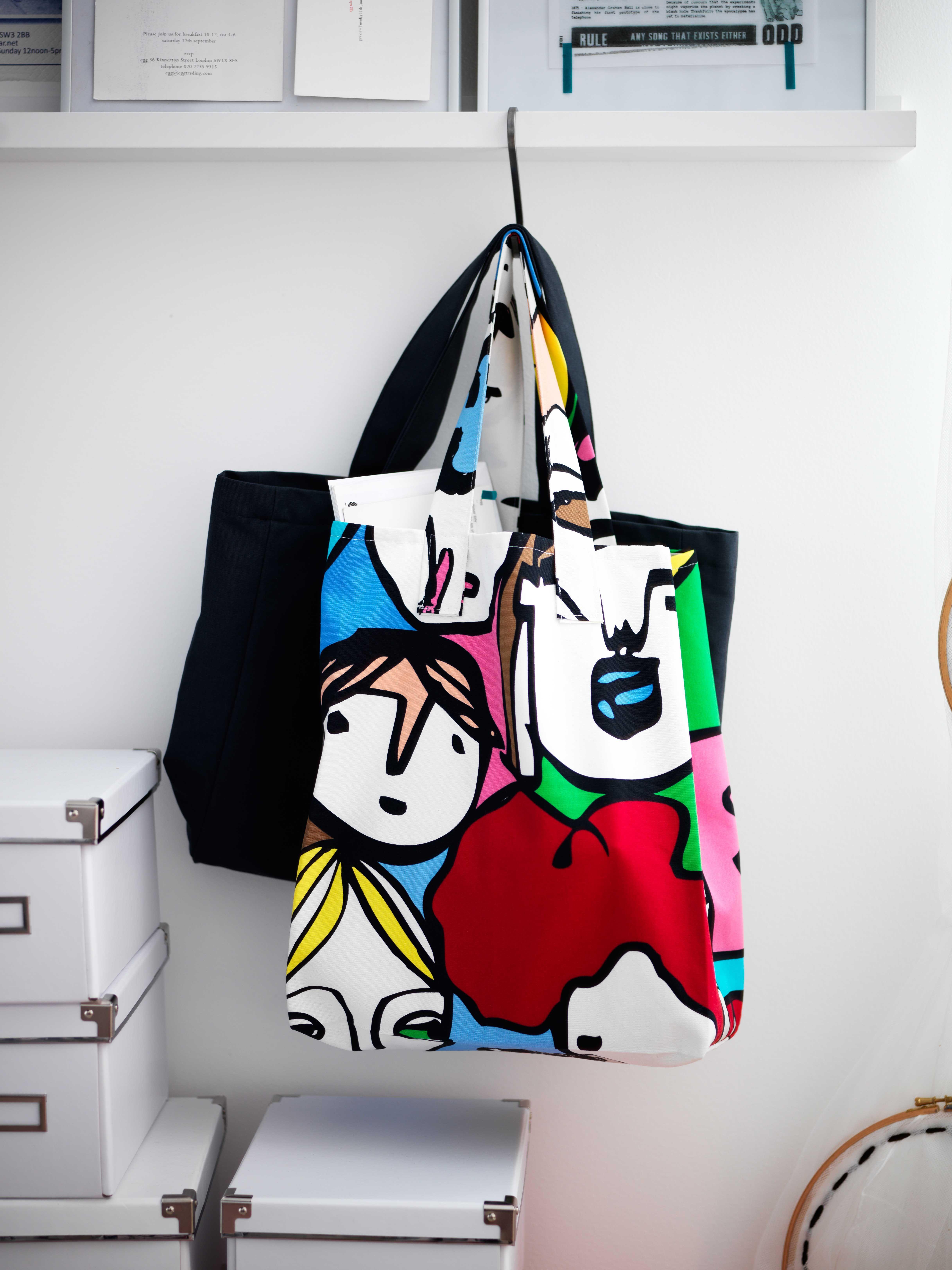 Ikea Osterreich Inspiration Textilien Tasche Meterware Gullvi Taschen Textilien Flauschiger Teppich