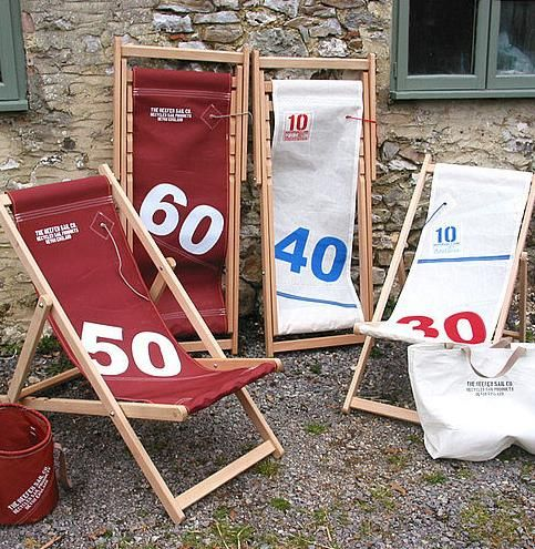 sailcloth beach chairs swivel chair keeps dropping deck i need to recover mine this looks cool