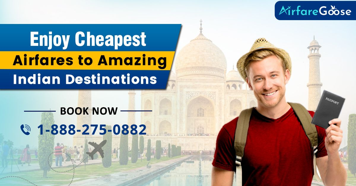 India is not only known for its rich culture and heritage. It is also known for its hospitality. Travel to India at the cheapest price only on #airfaregoose Hurry Up! CALL:-1-888-275-0882 (Toll-Free), info@airfareGoose.com  #travelawesome #neverstoptravelling #wanderlust #travelinspiration #travelstoke #travelpics #tourist #traveler #greatdeals #discountedoffers #worldfamous #touristspots