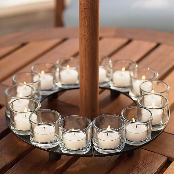 Encore candle holder centerpiece u light up my life
