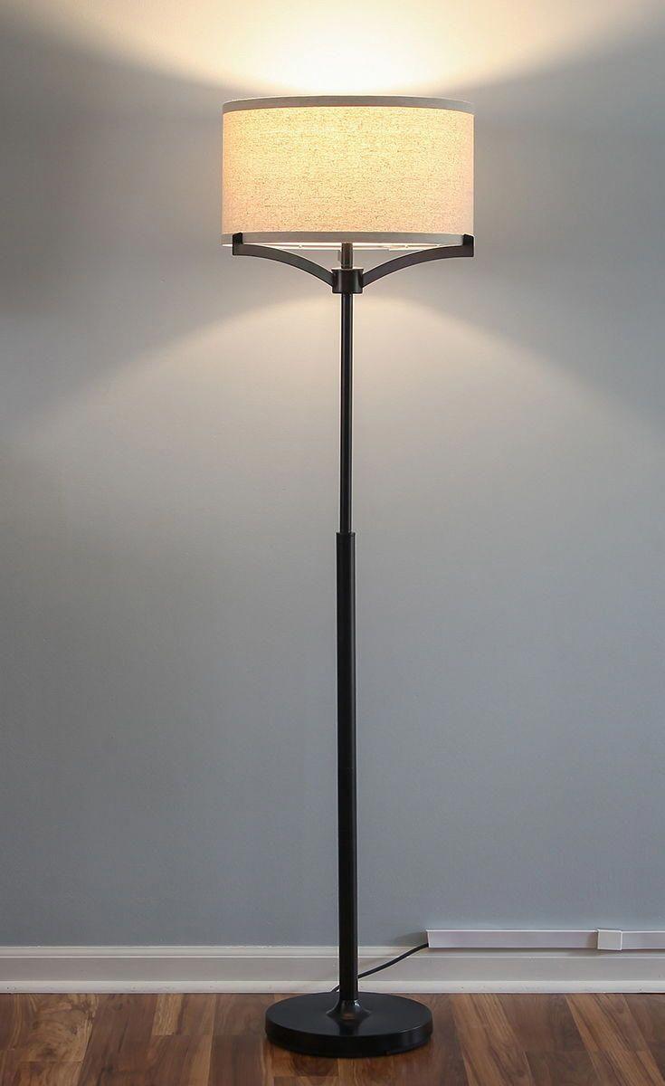 Elijah Led Floor Lamp Tall Pole