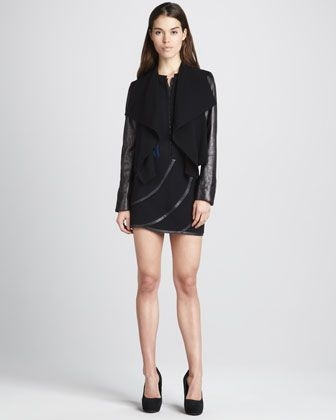 af34174270 Olympia+Draped+Front+Jacket