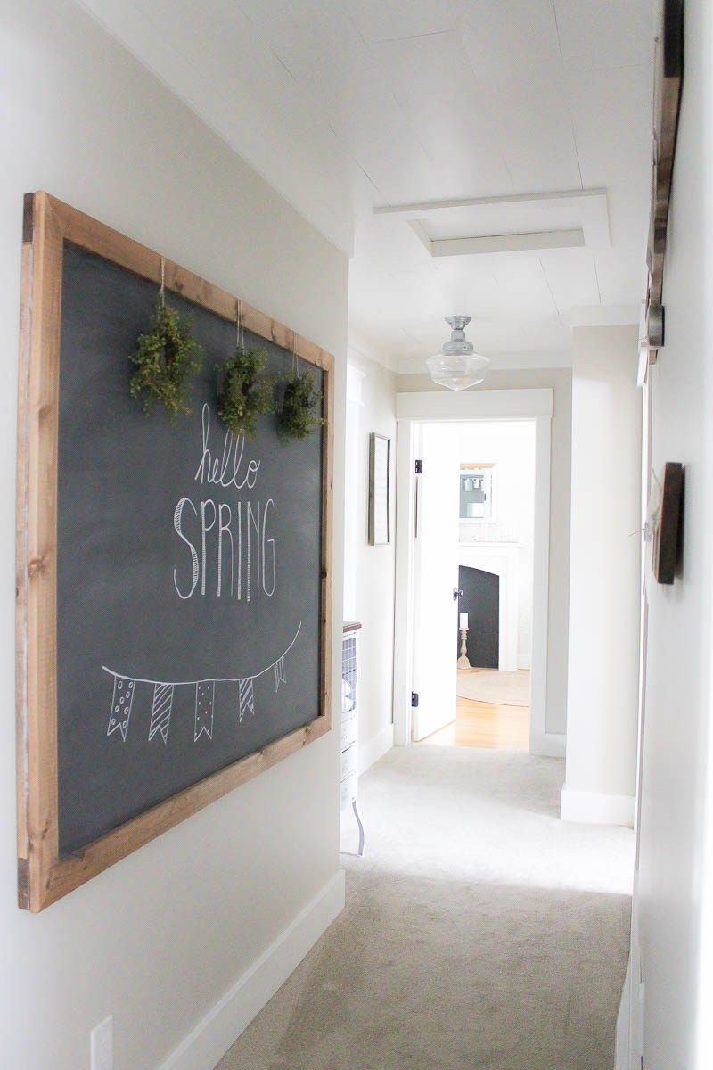 Farmhouse Addition Home Design Ideas Pictures Remodel And Decor: A Farmhouse Style Hallway Makeover