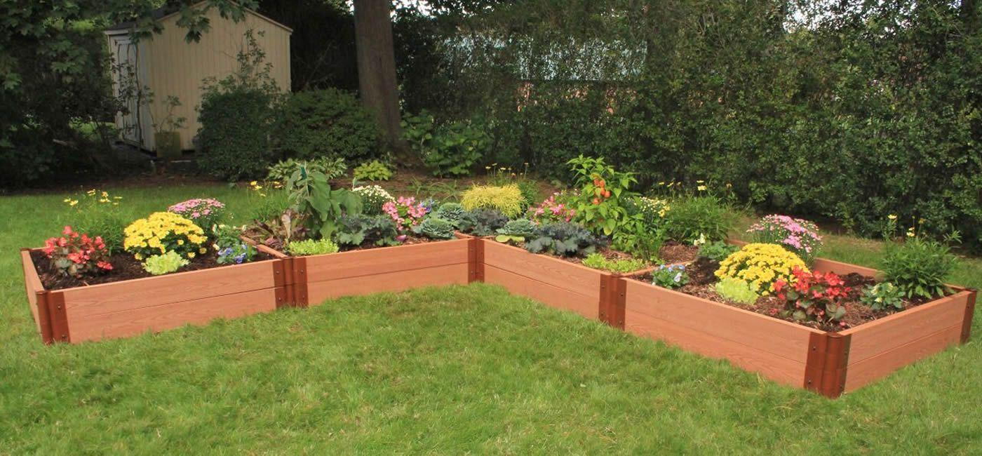 L Garden Ideas