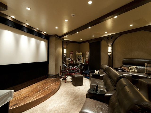 More Than Enough Room For The Entire Family Karaoke Room Home Home Theater Seating