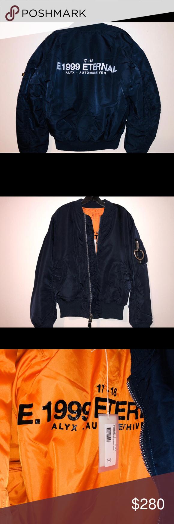 Alyx Studio Distressed Bomberjacket E 1999 Eternal Unisex Jacket Alyx Studio Bomber Jacket [ 1740 x 580 Pixel ]