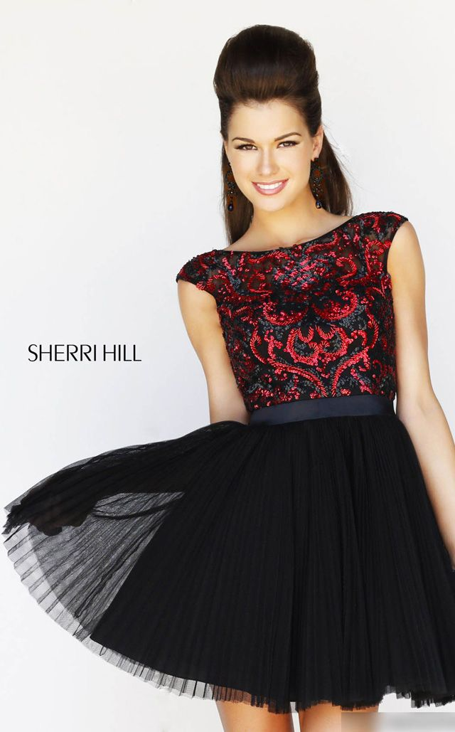 NewYorkDress Blog // New Year's Eve #Trend: A-Line Dresses // Click through for more! // Dress: Sherri Hill 21167